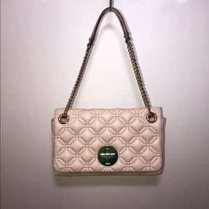 Kate Spade Blush Astor Court Cynthia Quilted Flap